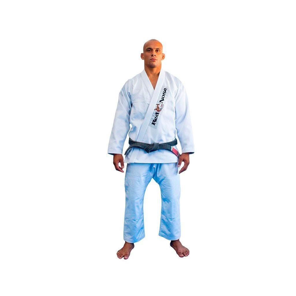 Kimono Jiu Jitsu Red Nose Beginner Branco Adulto Unissex