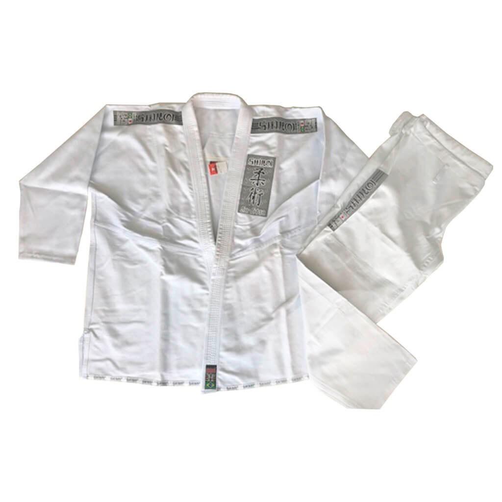 Kimono Jiu Jitsu Shiroi Standard Branco Adulto Unissex