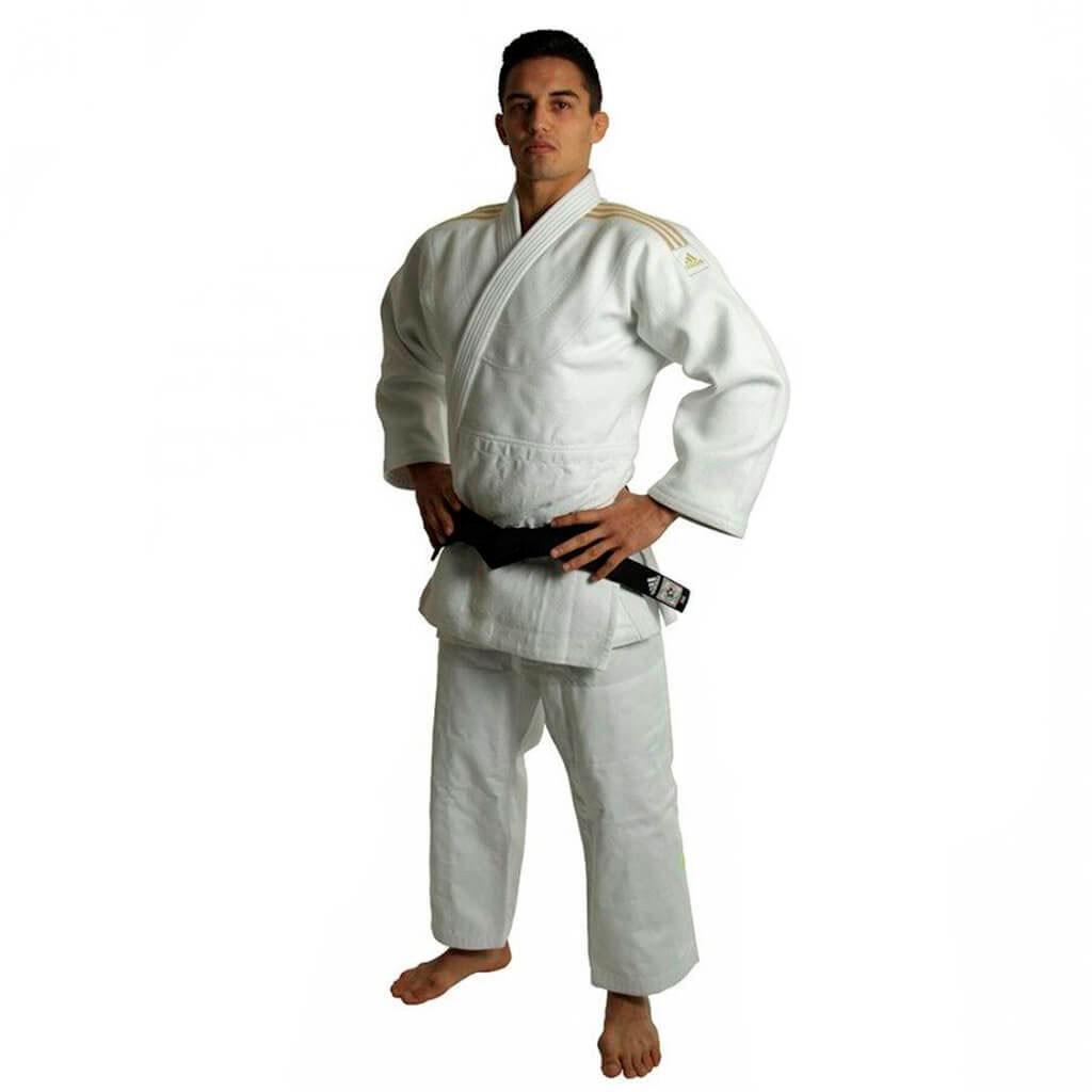 Kimono Judo Adidas Millenium J990 Branco Adulto Unissex