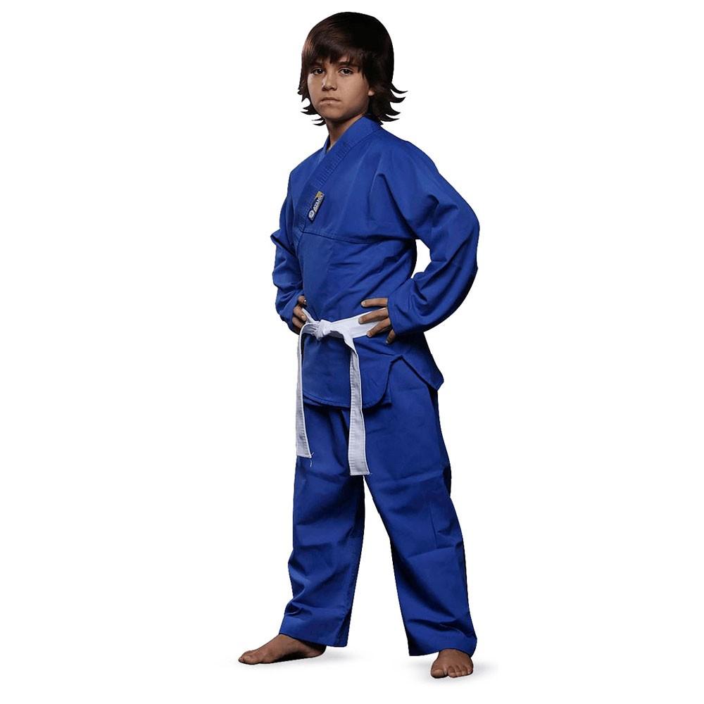 Kimono Jiu Jitsu / Judo Atama Kids Azul Infantil