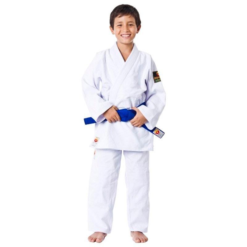 Kimono Judo Dragão Brasil Branco Infantil