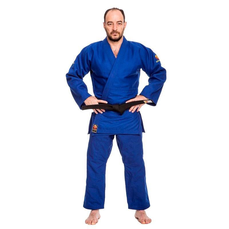 Kimono Judô Dragão Export Azul Adulto Unissex