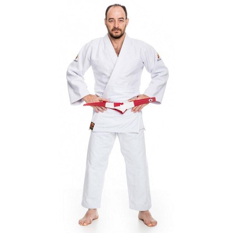 Kimono Judô Dragão Export Branco Adulto Unissex