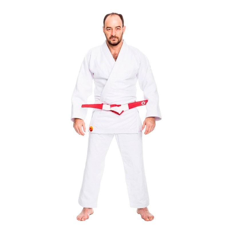 Kimono Judô Dragão Kodokan Confort Branco Adulto