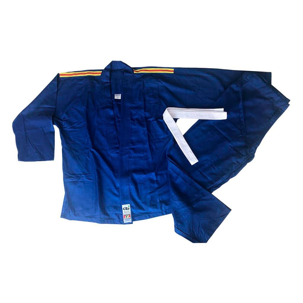Kimono Judo Shihan Brim Azul Adulto