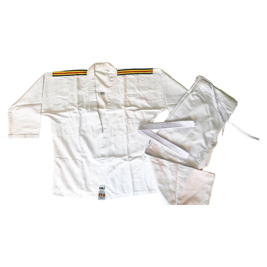 Kimono Judo Shihan Brim Branco Adulto