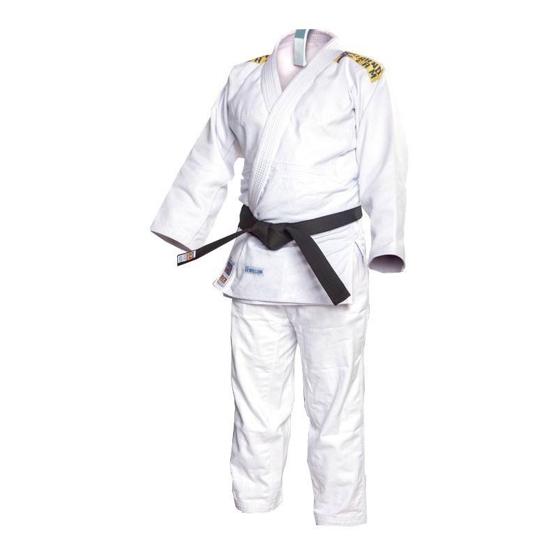 Kimono Judo Shihan Grand Slam Branco Adulto Unissex