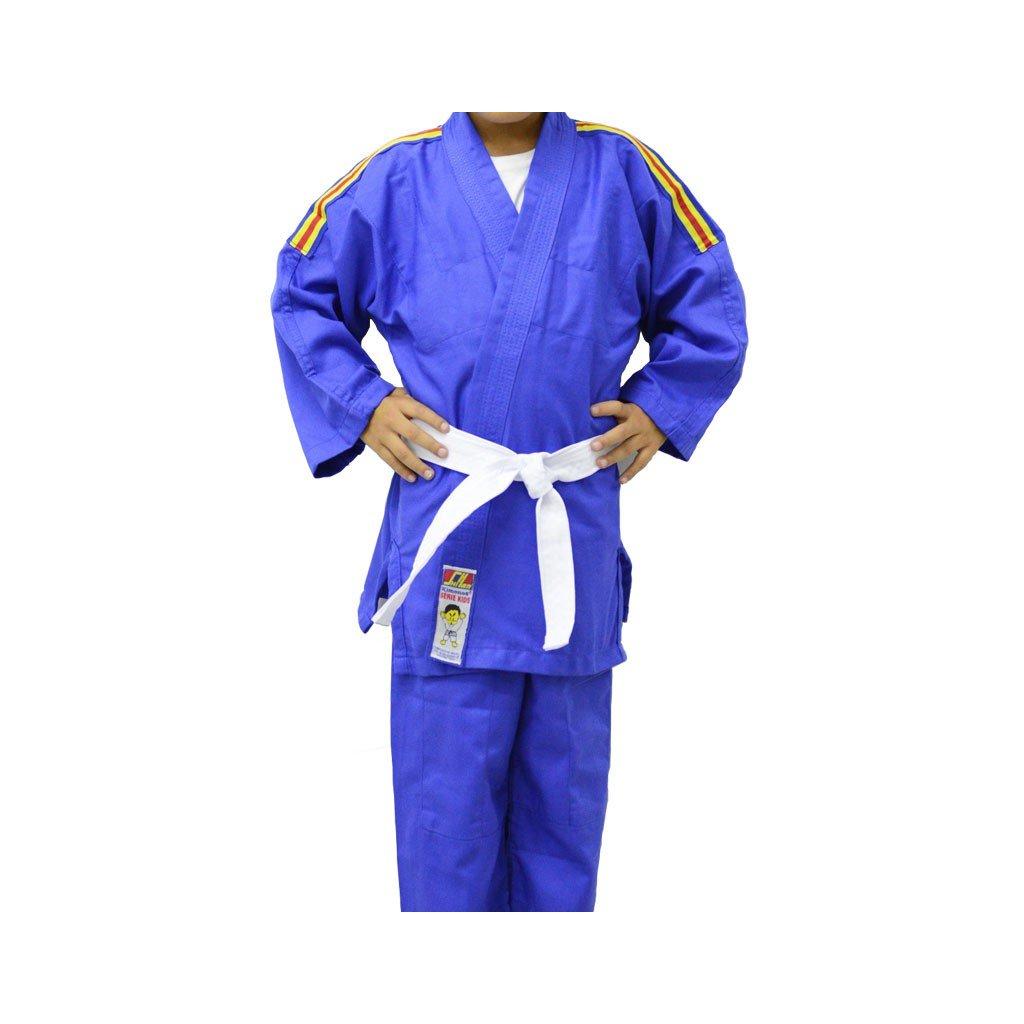Kimono Judo Shihan Kids Azul Infantil