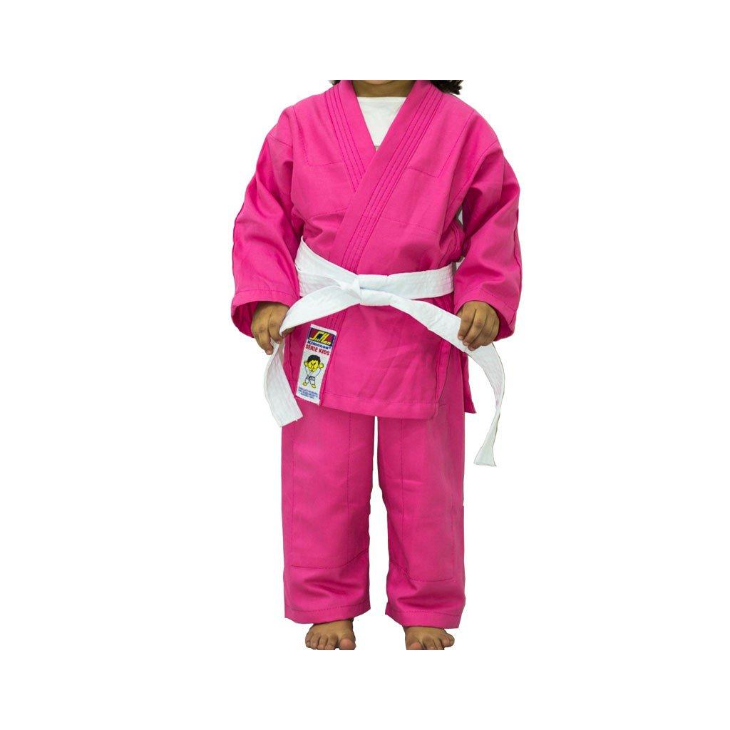 Kimono Judo Shihan Kids Rosa Infantil