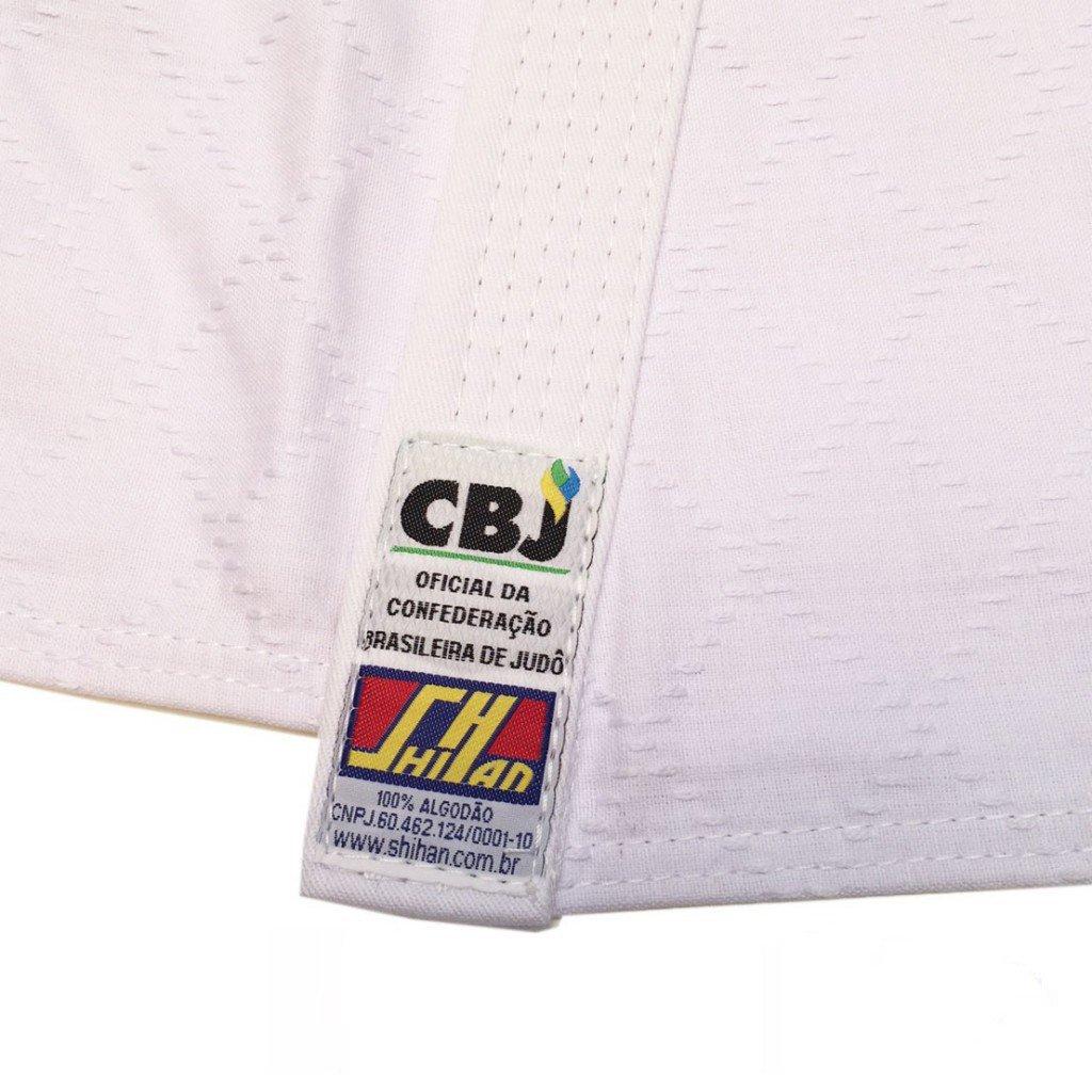 Kimono Judo Shihan Oficial CBJ Branco 2.0 Adulto Unissex