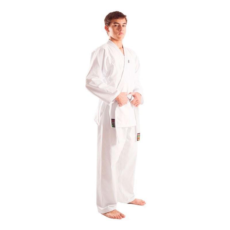 Kimono Judo Shiroi Brim Branco Adulto Unissex