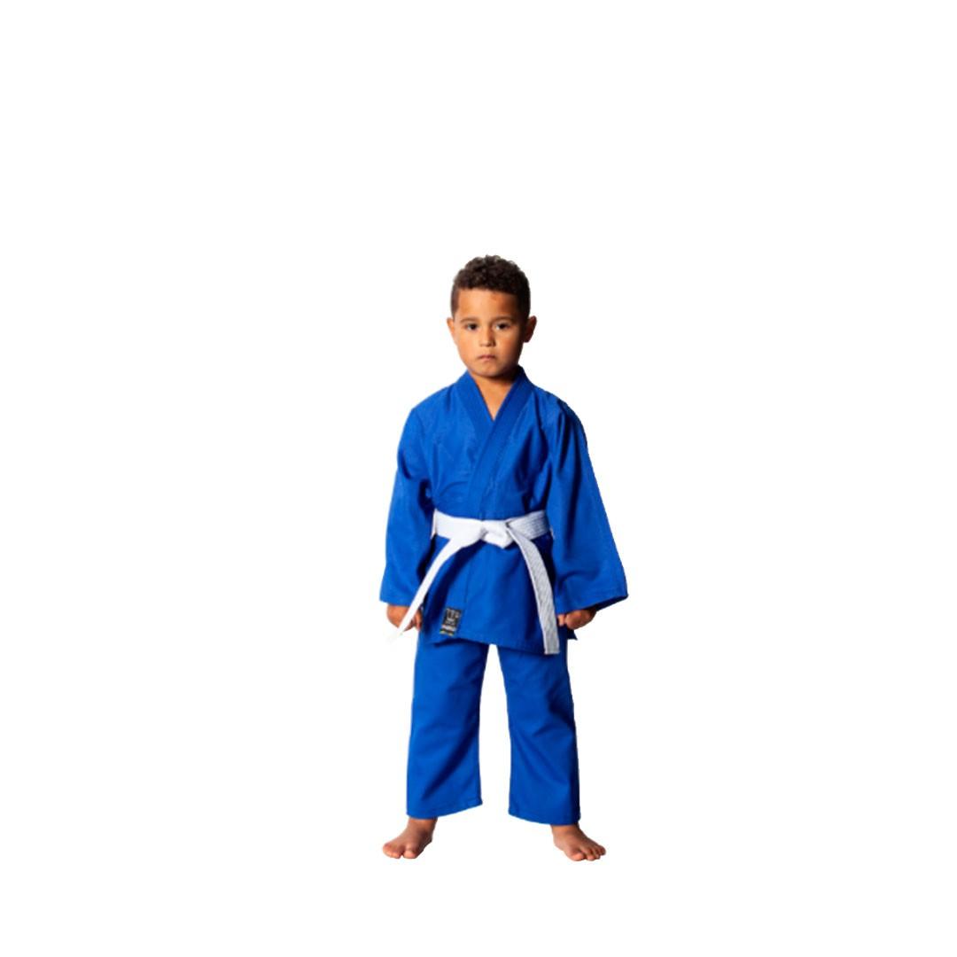 Kimono Judo Shiroi Kids Azul Infantil