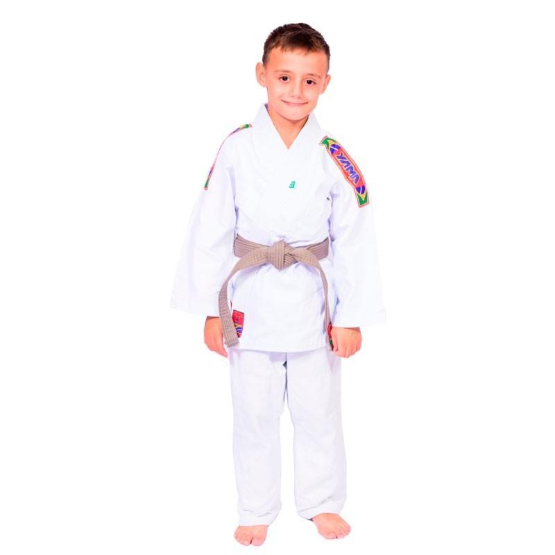 Kimono Judo Yama Reforçado Branco Infantil