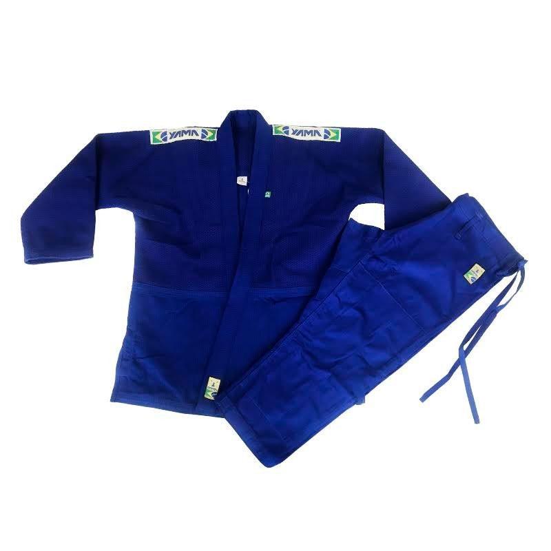 Kimono Judo Yama Master Azul Adulto Unissex