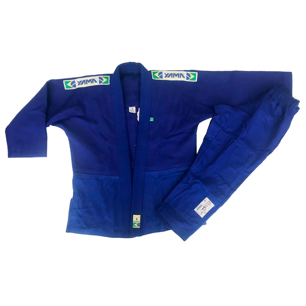 Kimono Judo Yama Master Azul Infantil