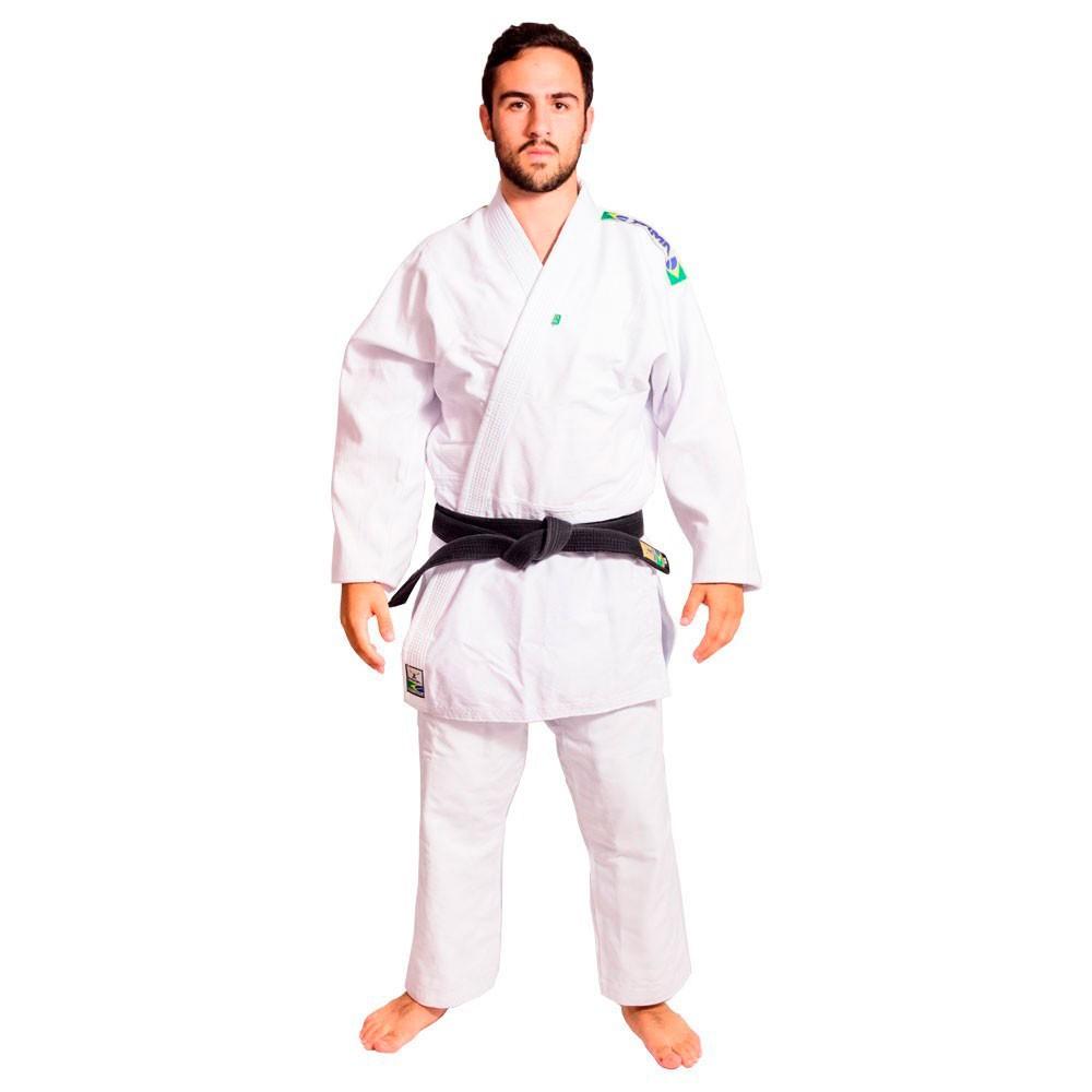 Kimono Judo Yama Master Branco Adulto Unissex