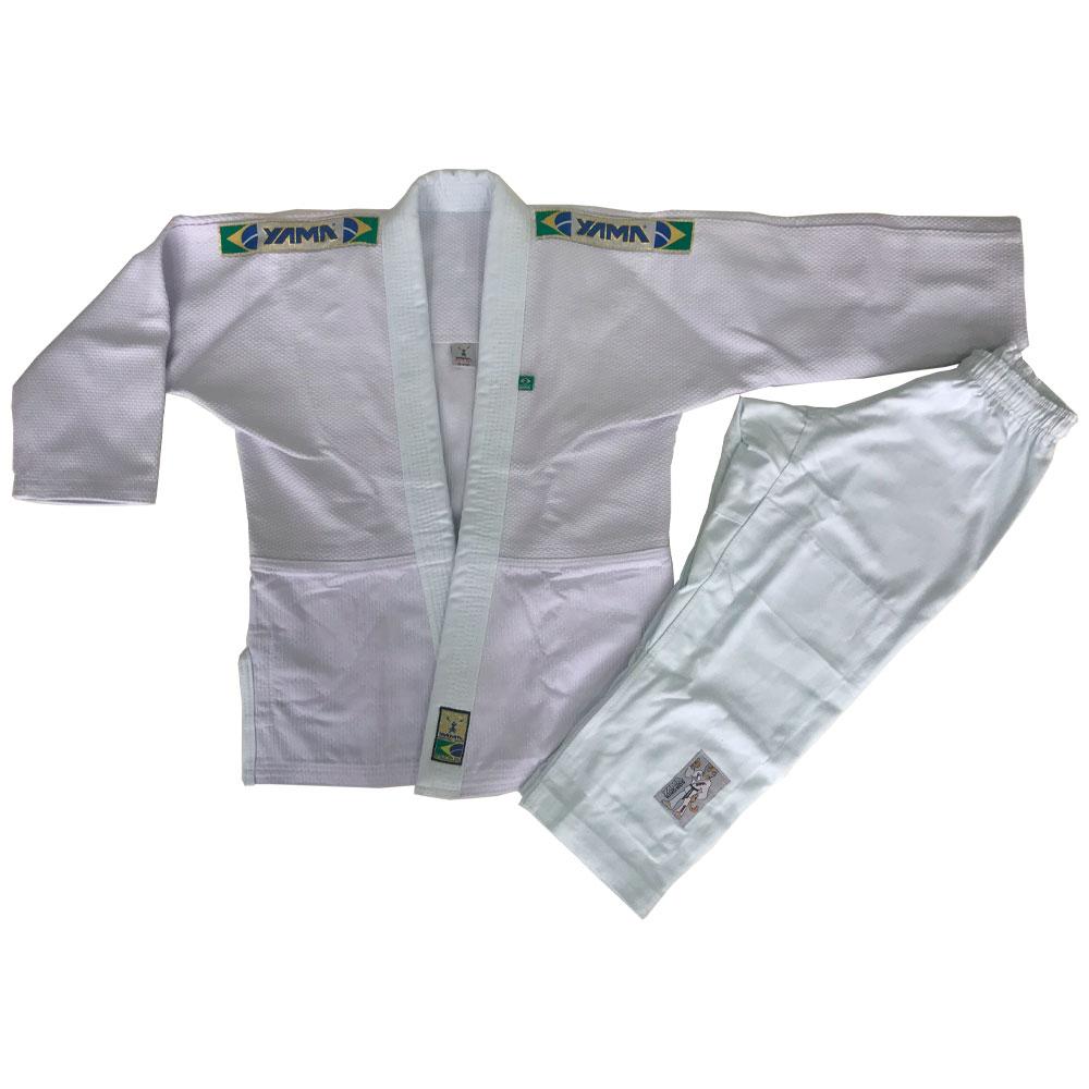 Kimono Judo Yama Master Branco Infantil
