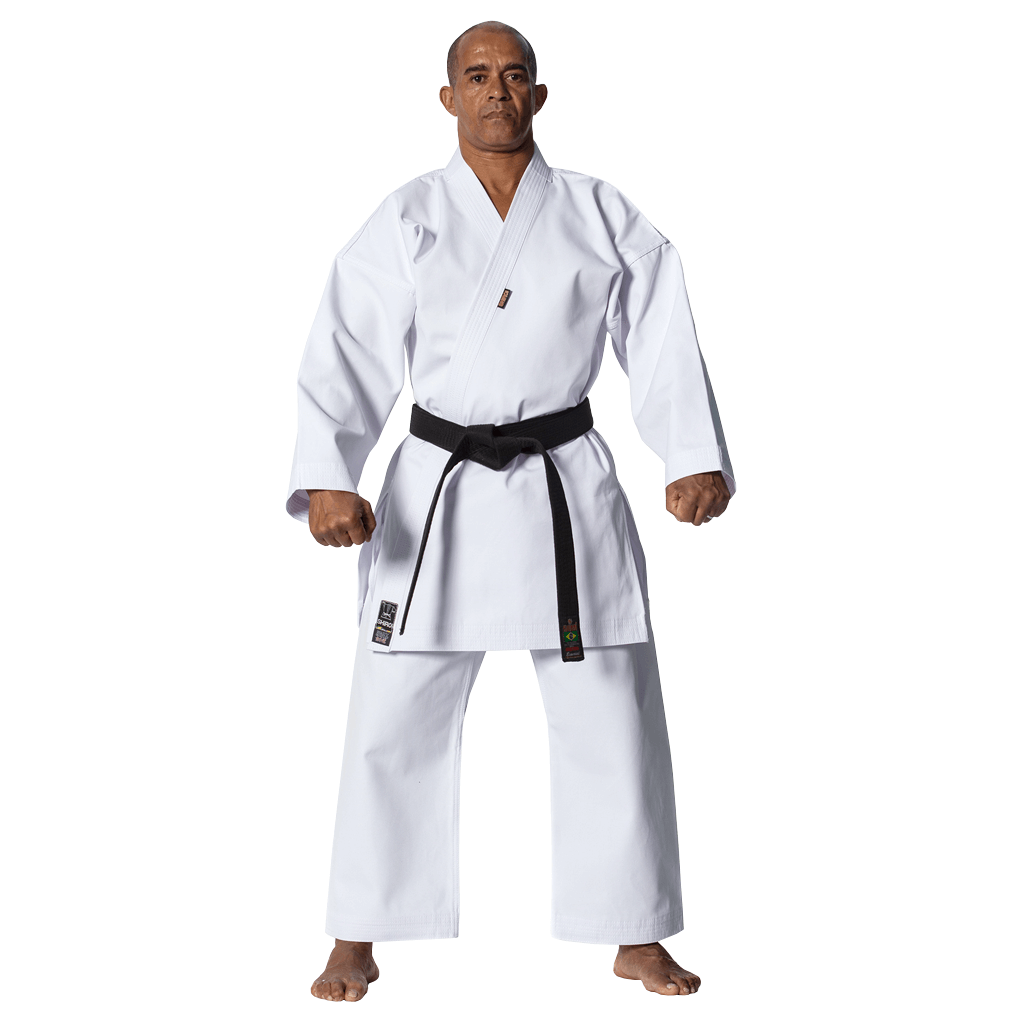 Kimono Karate Shiroi Heavy Canvas Oficial CBK Adulto Unissex