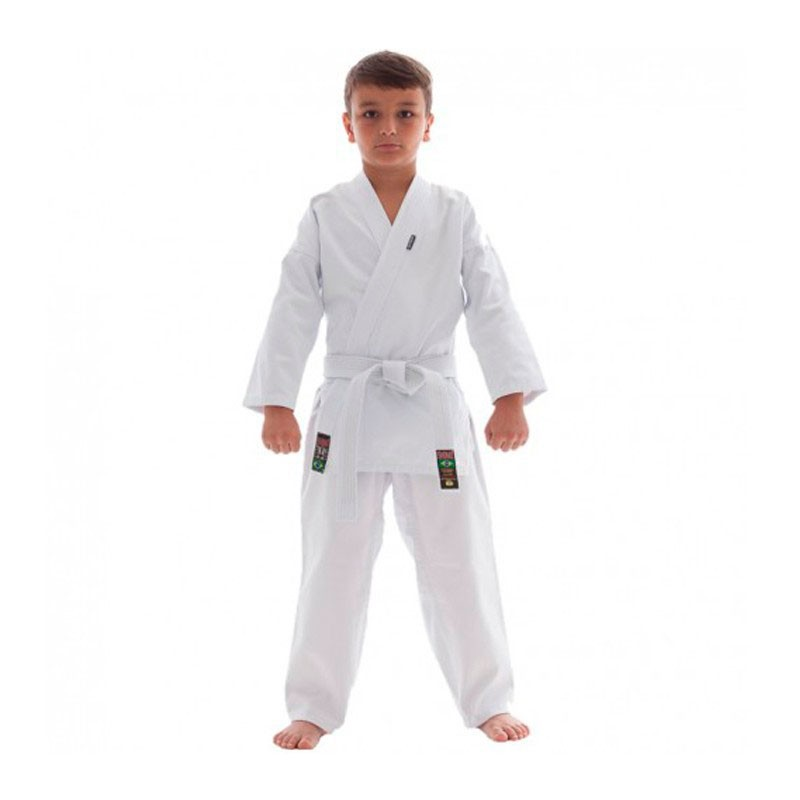 Kimono Karate Shiroi Start Oficial CBK Infantil