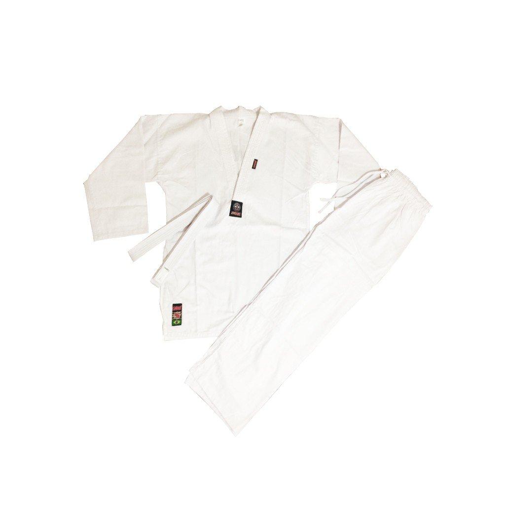 Kimono Taekwondo Shiroi Light Adulto Unissex - Do Bok