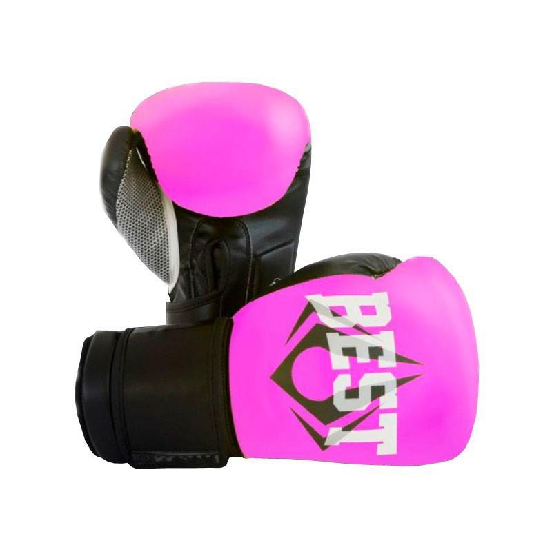 Luva de Boxe Classic Pink Best Defense