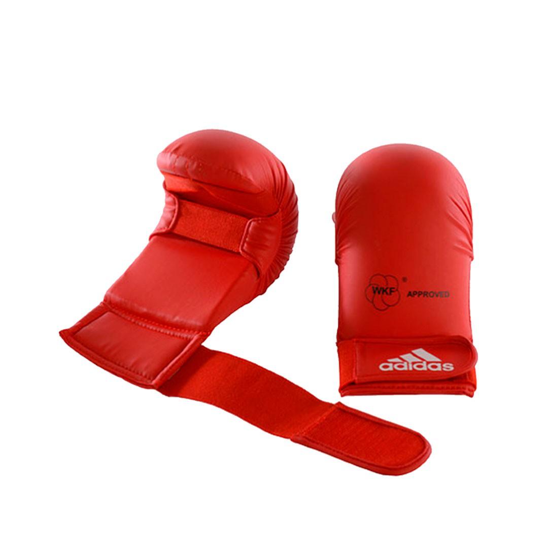 Luva Karate Adidas WKF Oficial Competition Vermelha