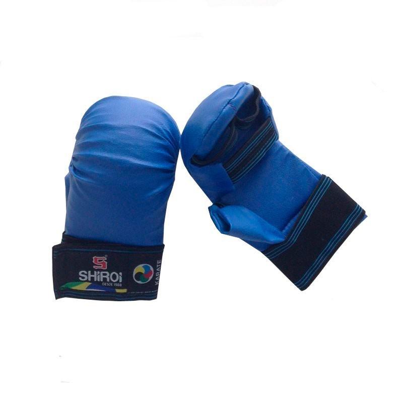 Luva Karate Shiroi Oficial CBK 5D Azul