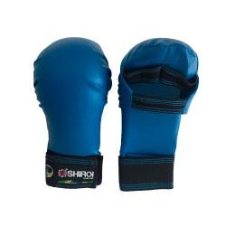 Luva Karate Shiroi Oficial CBK Azul