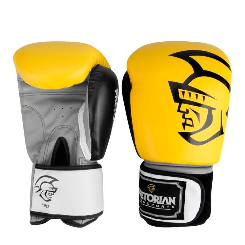 Luva Pretorian Training Boxe/Muay Thai Amarela