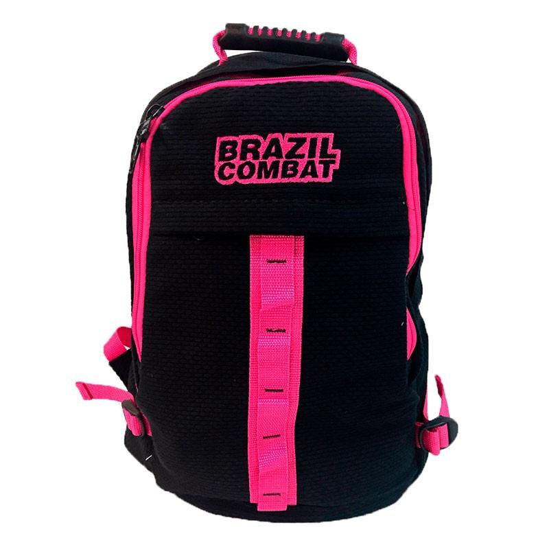 Mochila Kimono Preta/Rosa Brazil Combat