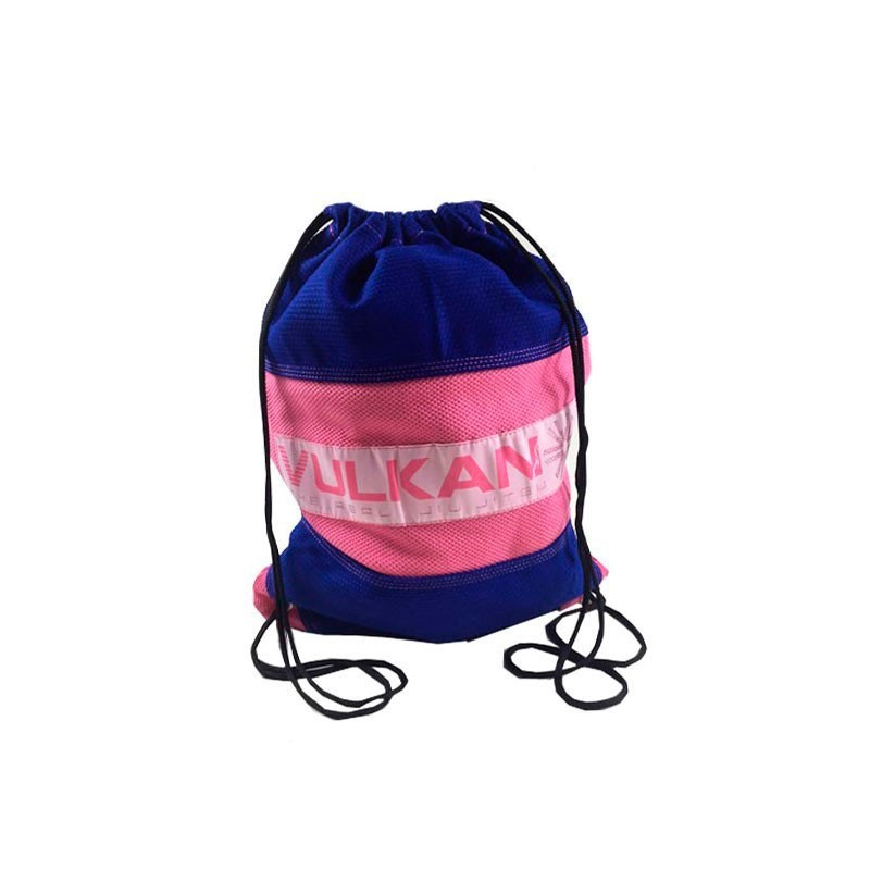 Mochila Vulkan Gi Bag Azul Royal Rosa Infantil