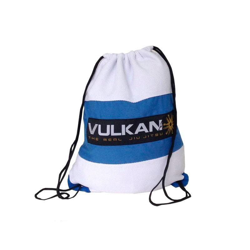 Mochila Vulkan Gi Bag Branco Celeste Infantil