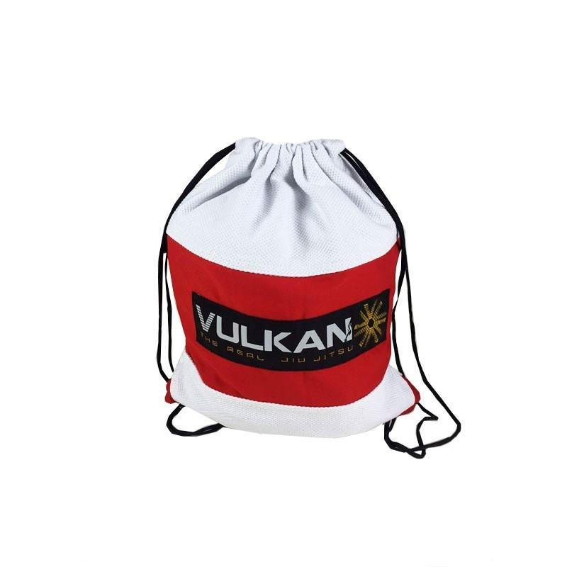 Mochila Vulkan Gi Bag Branco Vermelho Infantil