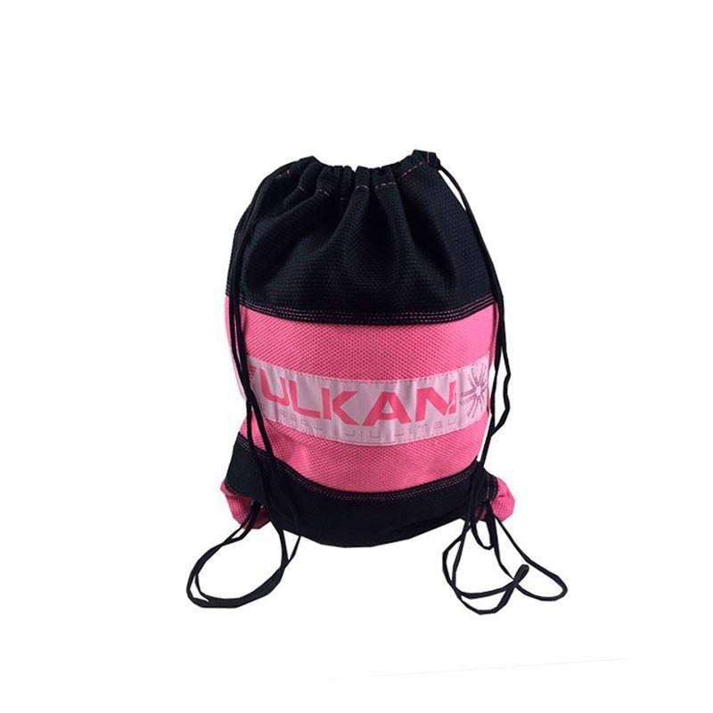 Mochila Vulkan Gi Bag Preto Rosa Infantil