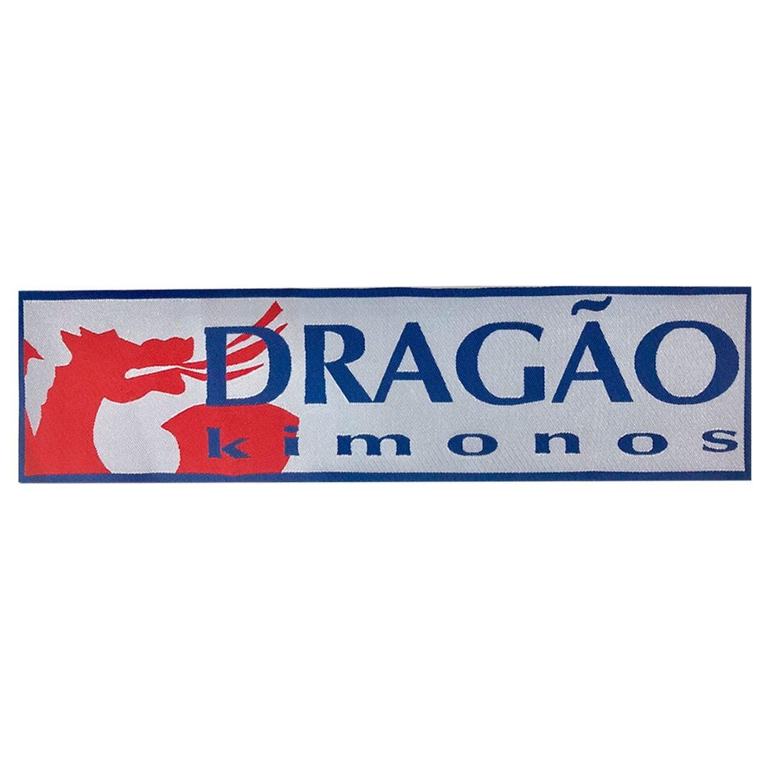 Patch Dragão Kimonos Branco - Dragão