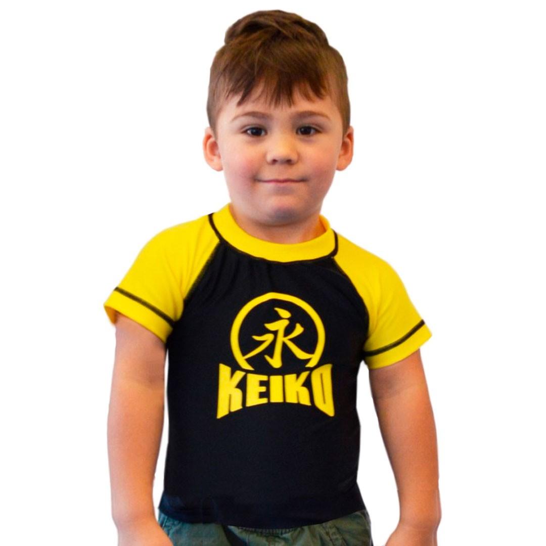 Rash Guard Lycra Keiko Infantil Amarela