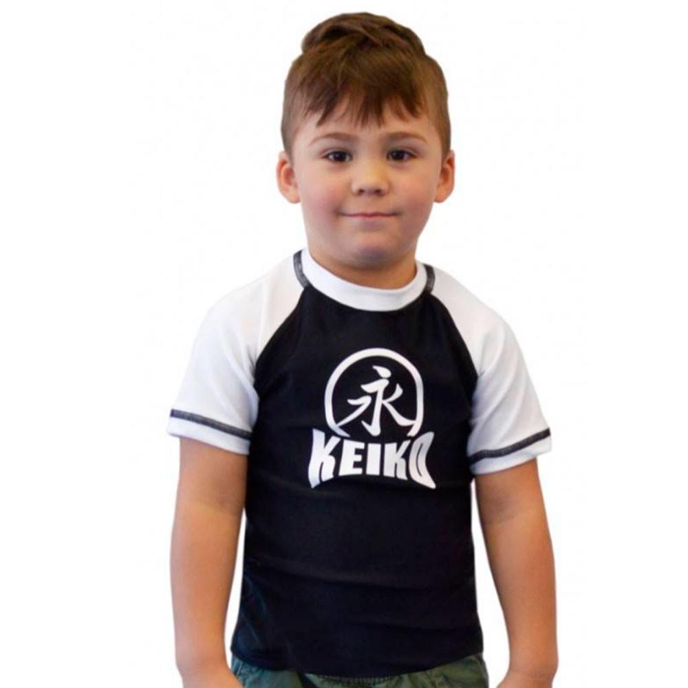 Rash Guard Lycra Keiko Infantil Branco