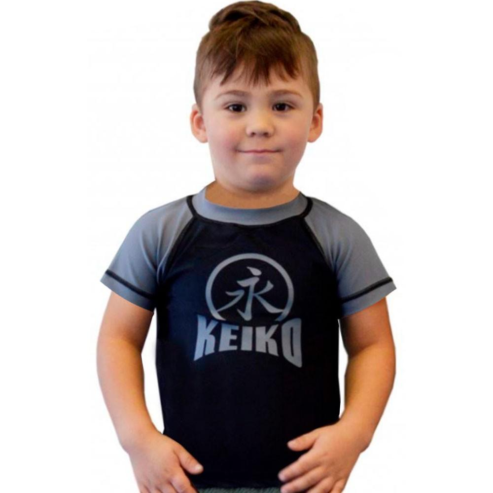 Rash Guard Lycra Keiko Infantil Cinza