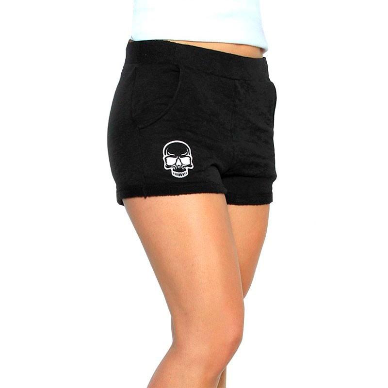 Shorts Kvra Jacquard Preto feminino