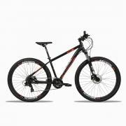 Bicicleta 29 Shimano 24v Freio Hidr Redstone Taipan Pto Verm