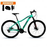 Bicicleta Aro 29 Ecos Onix 21v Freio A Disco Mecâ Vde Turque