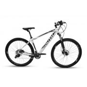 Bicicleta Aro 29 Mtb Alumínio South Legend 20v Branco e Pto