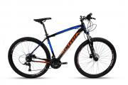 Bicicleta Aro 29 Mtb Alumínio South Legend 21v Azul e Laranj