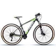 Bicicleta Aro 29 Mtb Carbono Lenister 27v Shimano Tam 17