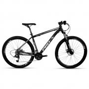Bicicleta Aro 29 Prowest Freio Mec Trava Susp 27v Pto e Bco