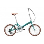 Bicicleta Dobrável Durban Rio XL Aro 24 Azul Turquesa