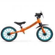 Bicicleta Infantil Nathor Rocket Equilíbrio Balance S/ Pedal