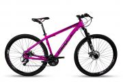 Bicicleta Mountain Bike 29 Prowest  24v Câmbio Shimano Rosa