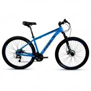 Bicicleta Mtb Aro 29 Freio Mec 24v Prowest Megarange Azul
