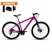 Bicicleta Mtb Aro 29 Prowest Câmbio Shimano 24v 17 Rosa